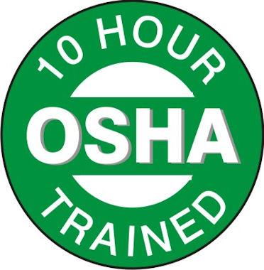 OSHA 10 logo3081